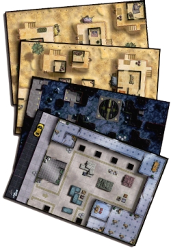 Adventurer's Atlas HeroClix Maps