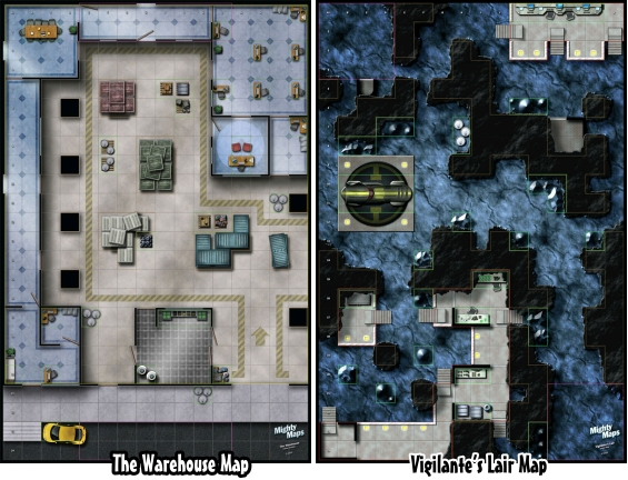 Adventurer's Atlas HeroClix Maps Mighty Maps