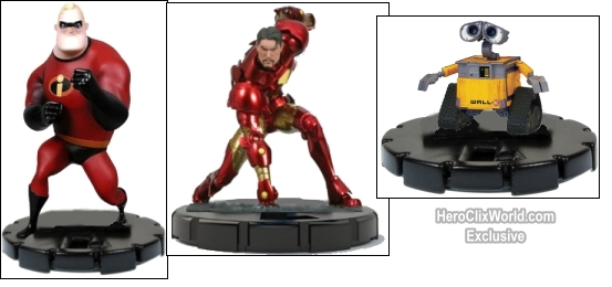 HeroClix Disneyclix Collage
