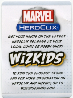 HeroClix Warmachine Card Back