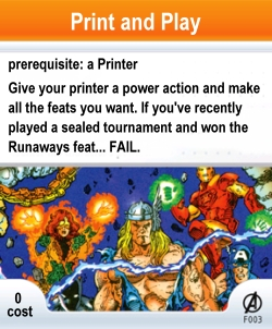 HeroClix Print and Play Fail