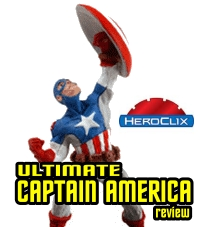HeroClix Ultimate Captain America