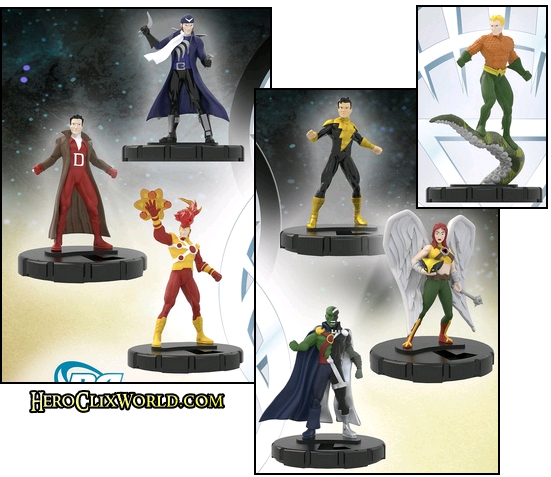 Brightest Day figures HeroClix