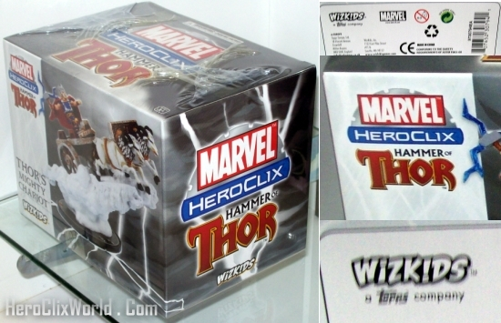 HeroClix Thors Mighty Chariot at HeroClix World