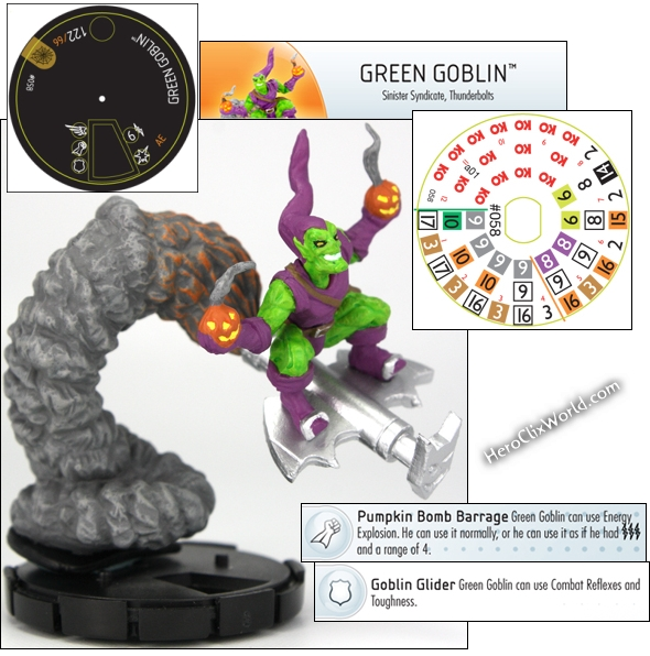 Green Goblin HeroClix Web of Spiderman