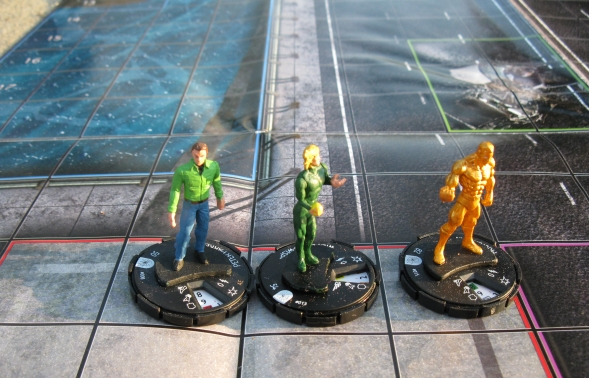 HeroClix Web of Spider-Man Map