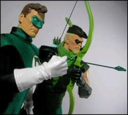 HeroClix Duo Green Arrow Lantern