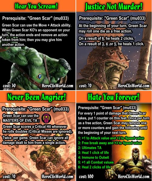 Free Comic Book Day Hulk Heroclix: World War Hulk