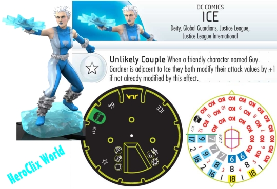 HeroClix Streets of Gotham Batman ICE DIAL
