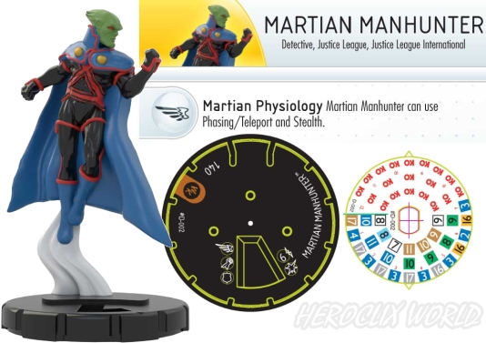 HeroClix 2012 Convention Exclusive Martian Manhunter
