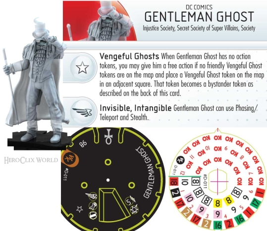HeroClix Gentleman Ghost Convention Exclusive