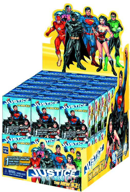 HeroClix Justice League (new 52) gravity Feed