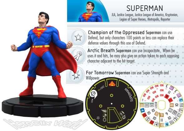 HeroClix Superman Fast Forces