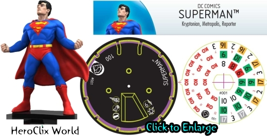Superman Quick Start HeroClix