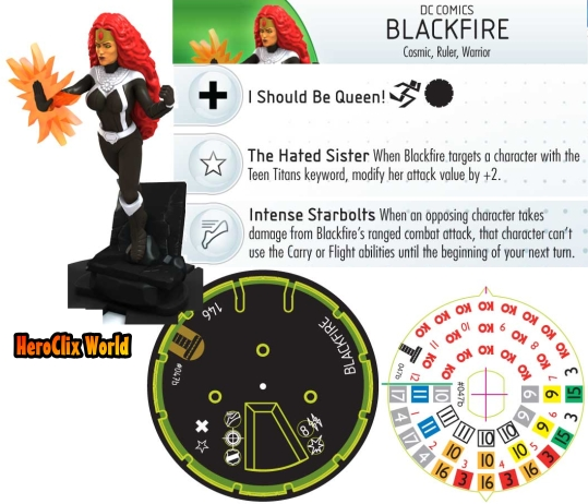 Blackfire HeroClix Dial The Le Games