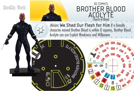 brother blood acolyte Dial
