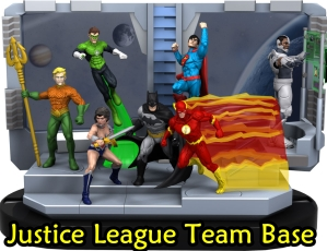 Justice League Team Base