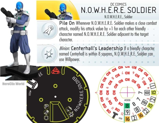 HeroClix Nowhere Soldier