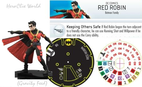 HeroClix Teen titans Red Robin