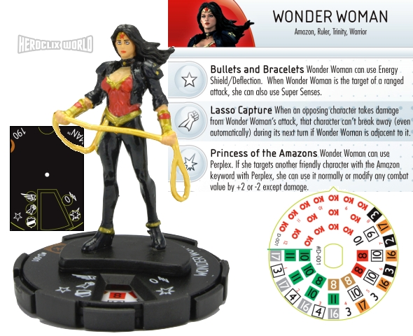 HeroClix Convention Exclusive Wonder Woman