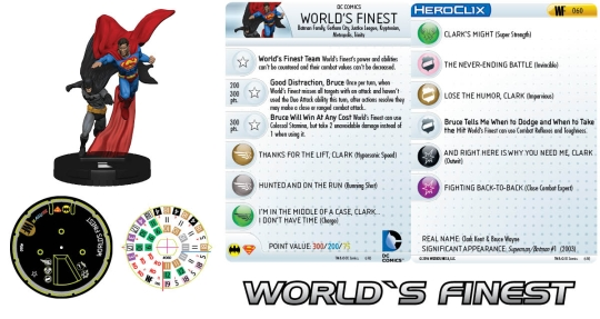 World's Finest HeroClix