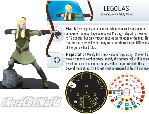 Lord Of The Rings Heroclix Booster