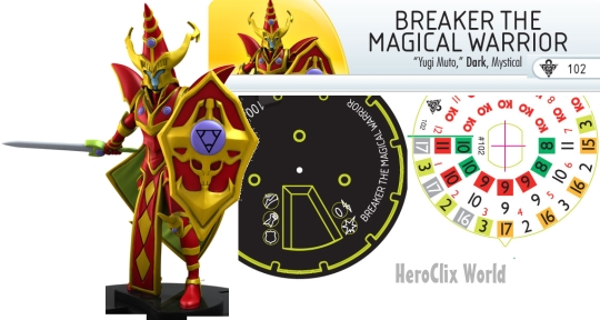 Heroclix Mage Knight Dial