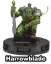 Harrowblade HeroClix Mage Knight
