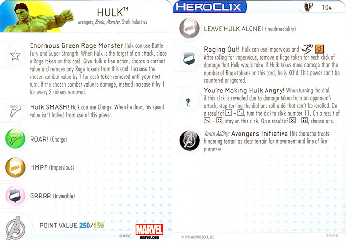 Age of Ultron Movie HeroClix