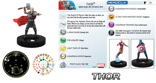 HEroClix AGe of Ultron Movie Starter