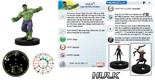 Age of Ultron HeroClix Movie Starter
