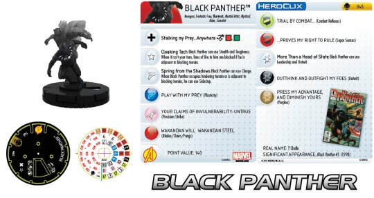 Black Panther Age of Ultron HeroClix