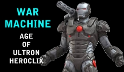War Machine HeroClix Dial
