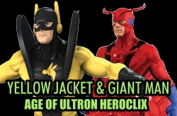 HeroClix Yellow jacekt / giant man dials