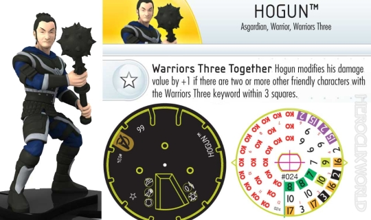 Avengers Movie Hogun Dial