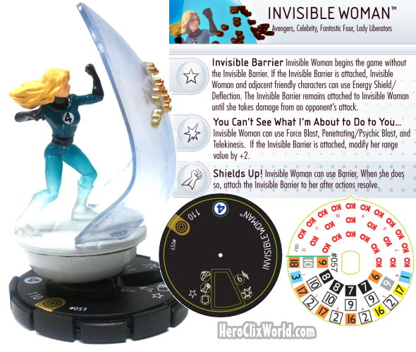 Invisible Woman HeroClix