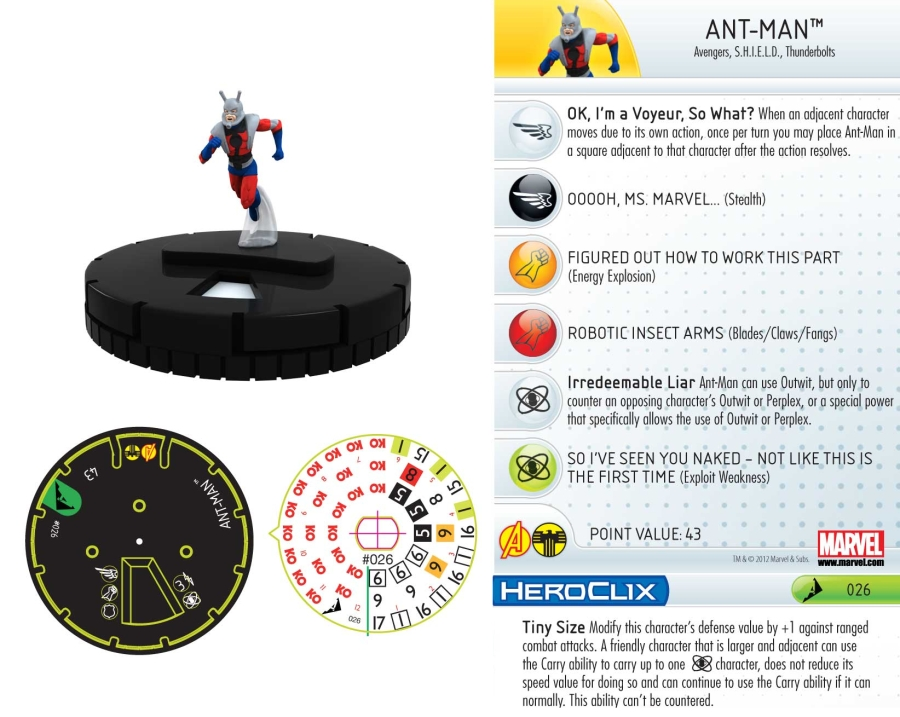 HeroClix World - Chaos War: Hank Pym