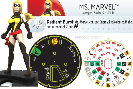 Heroclix Ms Marvel