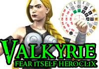 HeroClix Fear Itself Valkyrie
