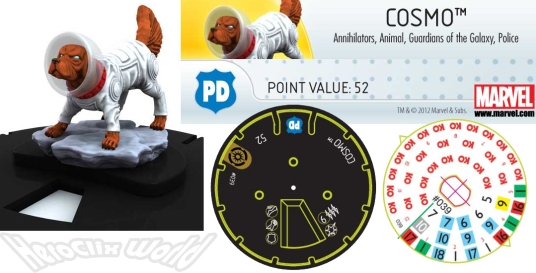 Awesome Clix: Heroclix Cosmo