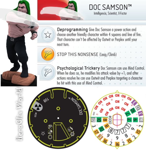 HeroClix world Doc Sampson