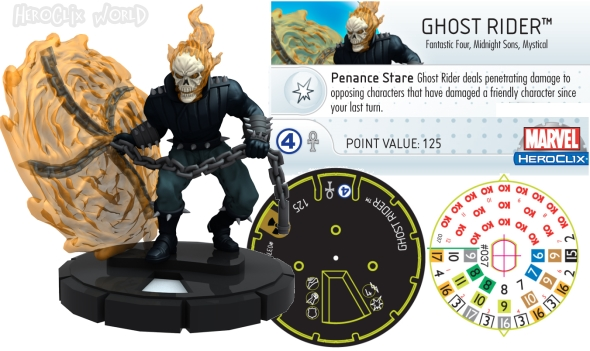 HeroClix Ghost Rider