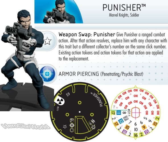 HeroClix Hulk Punisher