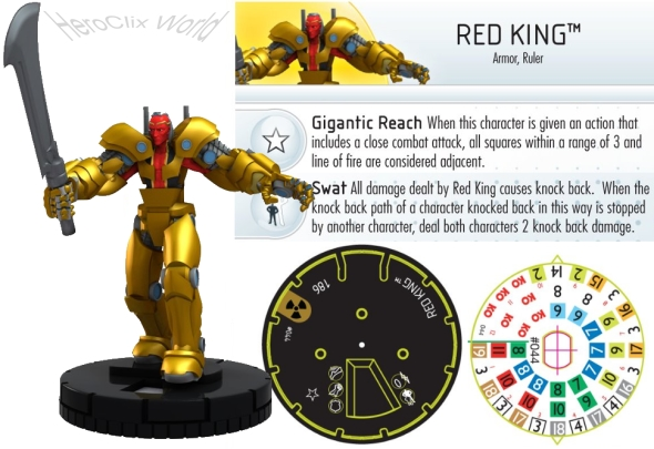 HeroClix Red King
