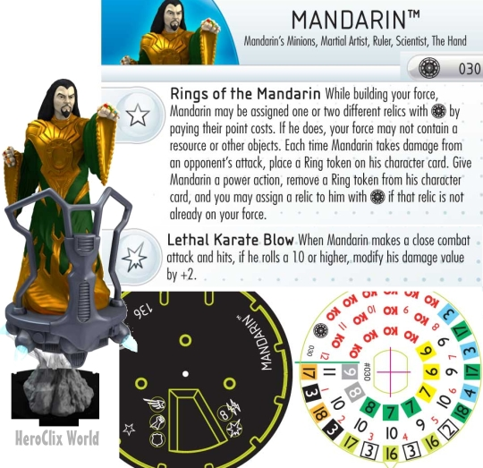 What Powers The Mandarin S Rings