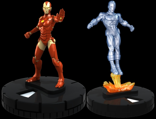 Iron maiden 2013 Heroclix by wizkids Complete 9 piece set ~ new