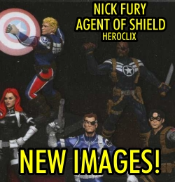 Nick Fury Agent of Shield HeroClix Spoilers