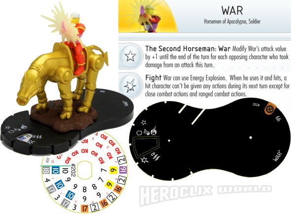 HeroClix Convention Exclusive War