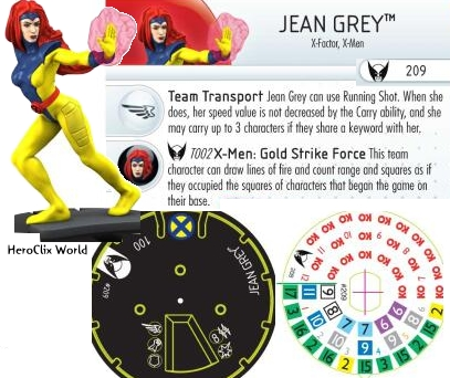 HeroClix Gold Strike Force