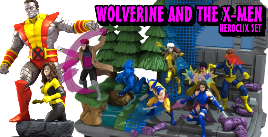 HeroClix Wolverine and the X-Men